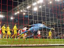 Nicht nur Salzburg war von der Niederlage gegen Villarreal betroffen