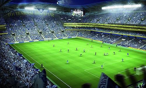neues stadion tottenham