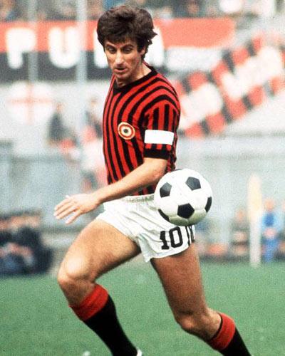 Джованни Ривера в составе «Милана»
