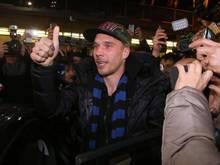 Lukas Podolski könnte eventuell bei Inter Mailand nicht in der Europa League spielen
