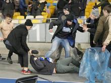 Auch in Kiew kam es zu gewalttätigen Ausschreitungen