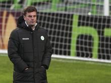 VfL-Trainer Dieter Hecking verrät nicht, wen er gegen Werder Bremen aufstellen will