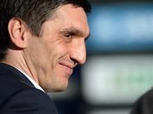 Hannovers Trainer Tayfun Korkut bekommt von den Spielern Rückhalt