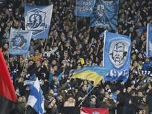 Fans von Dynamo Kiew hatten sich Auseinandersetzungen mit Sicherheitskräften geliefert