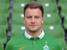 Philipp Bargfrede hat wieder mit der Mannschaft von Werder Bremen trainiert