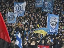 Die Fans von Dinamo Kiev sorgten gegen Everton und Guingamp für Ärger