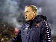 Zdenek Zeman ist der Coach von Cagliari Calcio