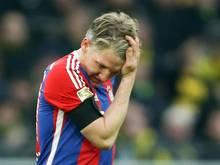 Bastian Schweinsteiger trainierte erstmals seit seiner Erkrankung wieder mit dem Ball