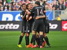 Der FC Bayern kann am kommenden Wochenende deutscher Meister werden
