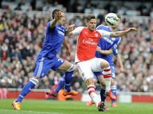 Arsenal und Chelsea trennten sich 0:0.
