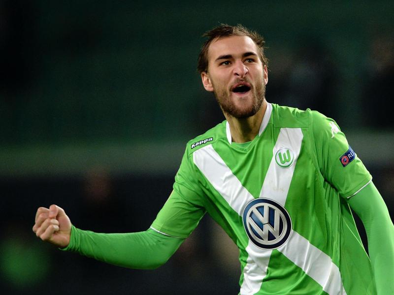 Bas Dost trifft mit den Wolfsburgern auf Inter Mailand