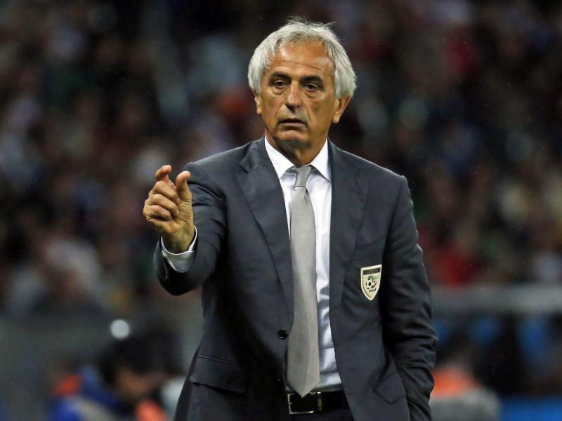 Mit Algerien hatte Vahid Halilhodzic bei der WM in Brasilien beachtlichenErfolg