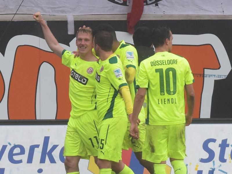 Axel Bellinghausen dreht mit Düsseldorf das Spiel