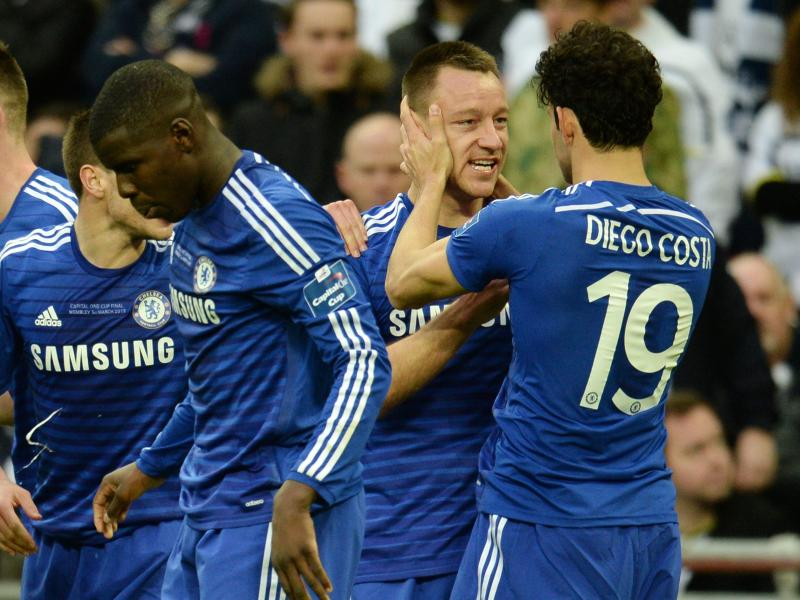 John Terry brachte Chelsea in Führung
