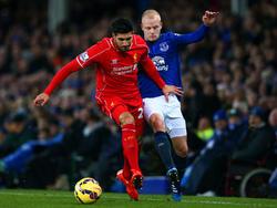 Emre Can (l.) spielt beim FC Liverpool auf der Position des Rechtsverteidigers