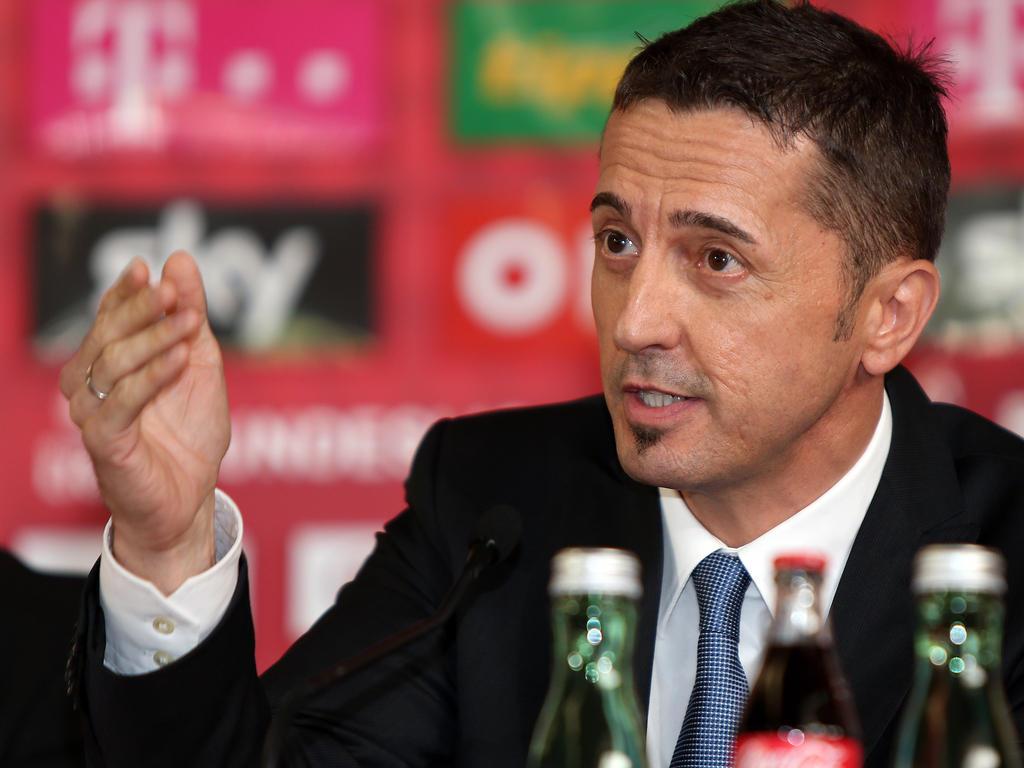 Bundesliga-Vorstand Georg Pangl trat zurück. Die genauen Gründe sind nicht bekannt - 8V4_a97au_l