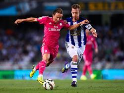 Luka Modric (l.) hat seine Verletzungspause überstanden