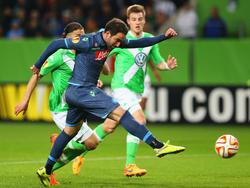 Eröffnete den Torreigen in Wolfsburg: Gonzalo Higuain
