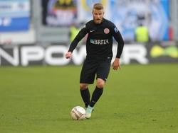 Alexander Riemann könnte dem SV Wehen Wiesbaden fehlen