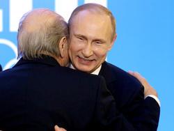 Sepp Blatter und Vladimir Putin werden sich noch etwas austauschen müssen