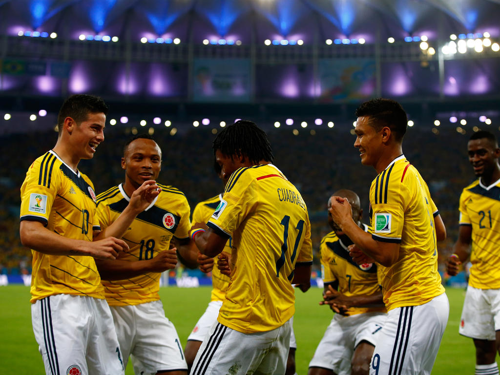 Seleccion Colombia: World Cup » News » Rodriguez Rocket Earns Colombia Brazil