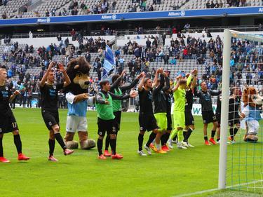 Neue Hoffnung beim TSV 1860: Die Münchener schlugen zuletzt Bochum in letzter Sekunde