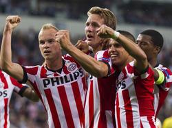 Die Eindhovener haben in dieser Saison viel Anlass zum Jubeln