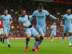 Manchester City besiegte Aston Villa mit 3:2