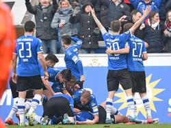 Arminia Bielefeld feiert seit Wochen Sieg um Sieg
