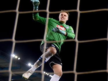 Da konnte er noch jubeln: Bielefelds Keeper Alexander Schwolow