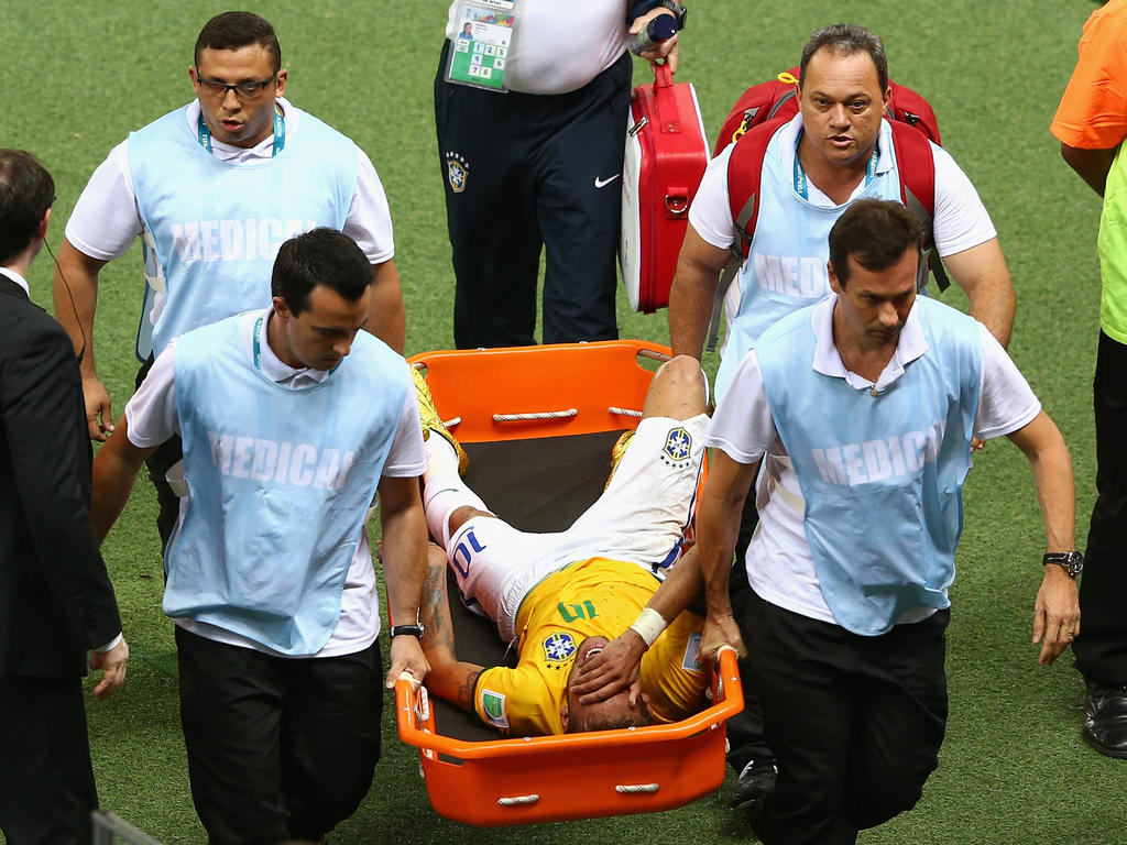 to » Cup for tests taken hospital » World News Neymar