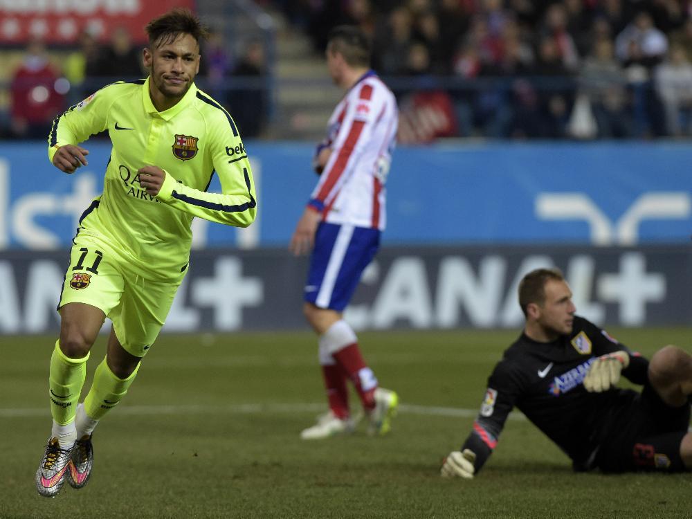 Doppelpack für Superstar Neymar gegen Atletico Madrid