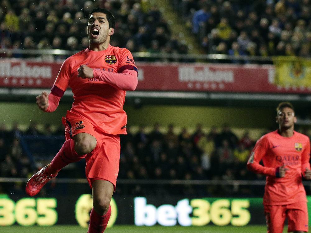 Torschütze Luis Suárez und Barcelona stehen im Finale