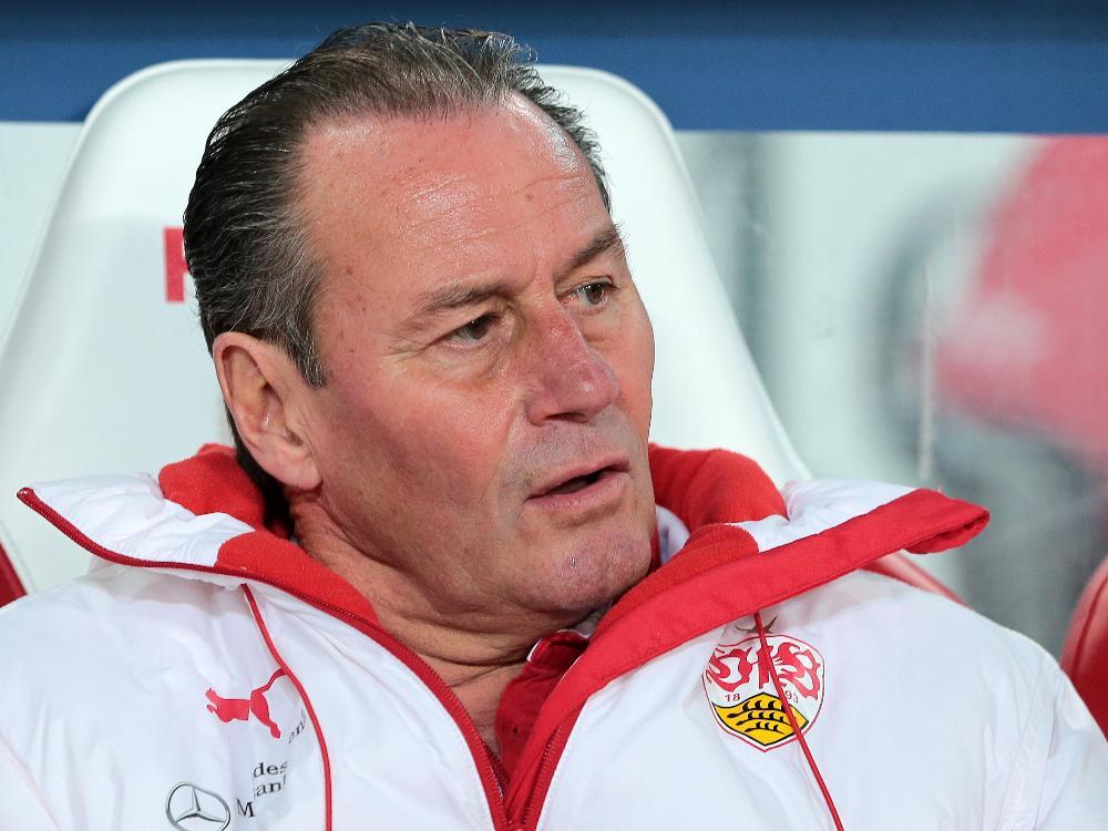 Huub Stevens und der VfB stecken weiter tief in der Krise