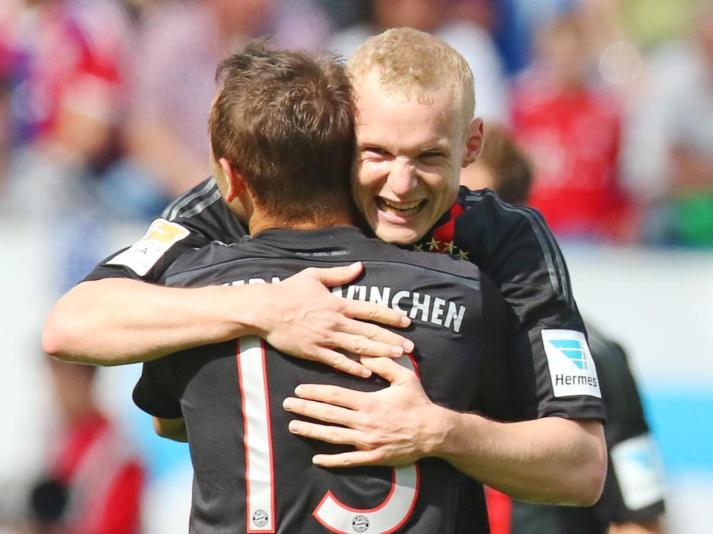Sebastian Rode schießt die Bayern in Führung