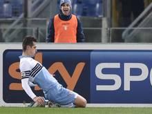 Miroslav Klose traf gegen Sassulo zum zwischenzeitlichen 2:0