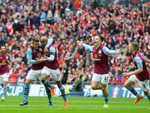 Aston Villa zieht ins FA-Cup-Finale ein