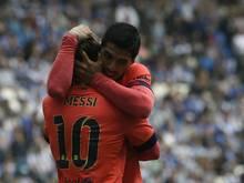 Barca konnte sich erneut auf seine Offensive verlassen