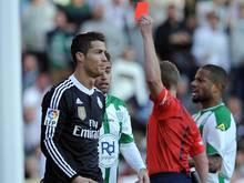 Cristiano Ronaldo für zwei Spiele gesperrt