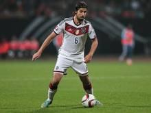 Fit und bereit für die Nationalmannschaft: Sami Khedira