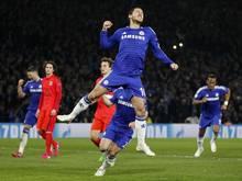 Eden Hazard geht für Chelsea weiter auf Torejagd