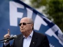 Deutliche Worte von FIFA-Präsident Joseph S. Blatter