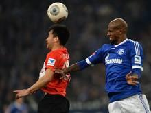 Schalke verleiht Santana (r.) bis Saisonende an Piräus
