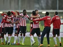 Eindhoven feiert die niederländische Meisterschaft